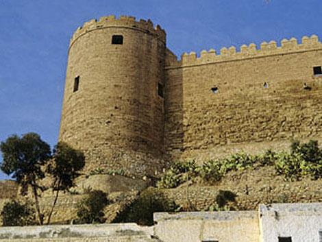 Vista actual de la Alcazaba de Almería.   El Mundo