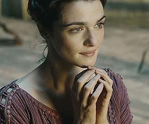 La actriz británica Rachel Weisz interpreta a Hipatia en Ágora.