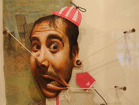 Una de las obras expuestas por Belin en el Museo del Rey Chico. | Jesús García Hinchado