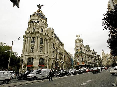 Vista general de la calle Gran Vía. (Begoña Rivas)