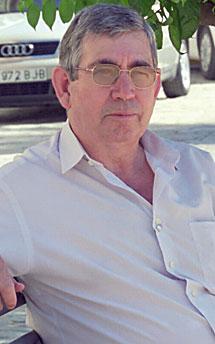 Miguel Manaute, en 2003. | E. L.