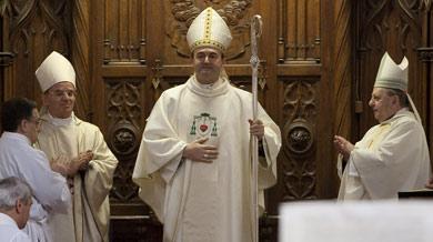 José Ignacio Munilla, ya oficialmente como obispo de San Sebastián. | Justy