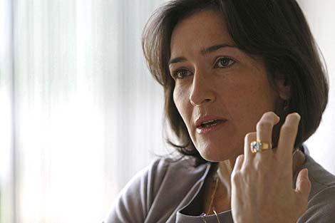 La ministra de Cultura, Ángeles González-Sinde. | Efe