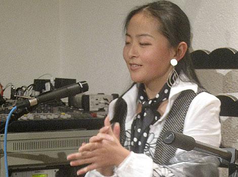 Perlita de Hunan, durante una de sus actuaciones.| Efe