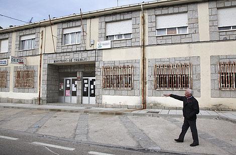 Lugar donde se produjo el control policial de la furgoneta en Bermillo de Sayago. | José Francisco Gamazo