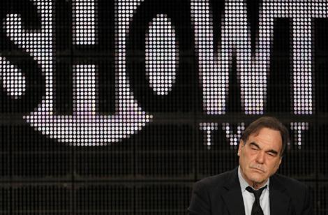 Oliver Stone, durante la presentación de 'America's secret history'. | Reuters