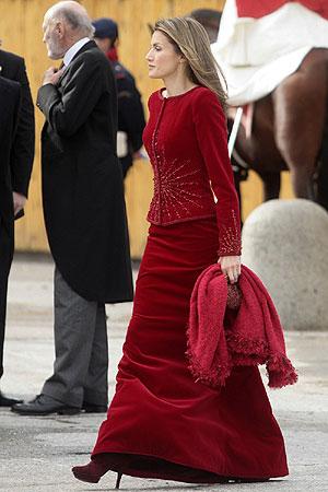 Letizia, de 'Total Rouge'. (Foto: Antonio Heredia)
