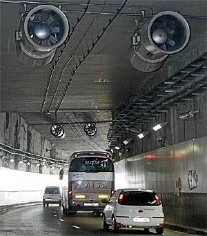 Túnel de la M-30.