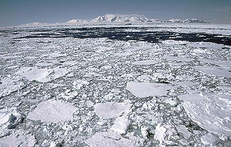 Una imagen de la Antártida.   'British Antarctic Survey'