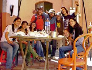 Mi familia temporal en Arequipa. | W. Fernández