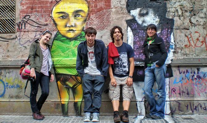 Encuentro con unos amigos en Buenos Aires. | W. Fernández
