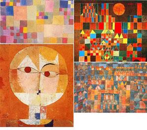 El color y la composición de Klee, inspiración para Aguinaga