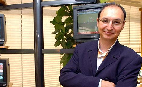 Fran Llorente, responsable de informativos de TVE. (Foto: Carlos Miralles)