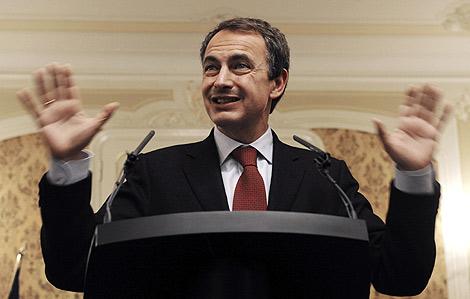 Zapatero, en un acto reciente. | Reuters