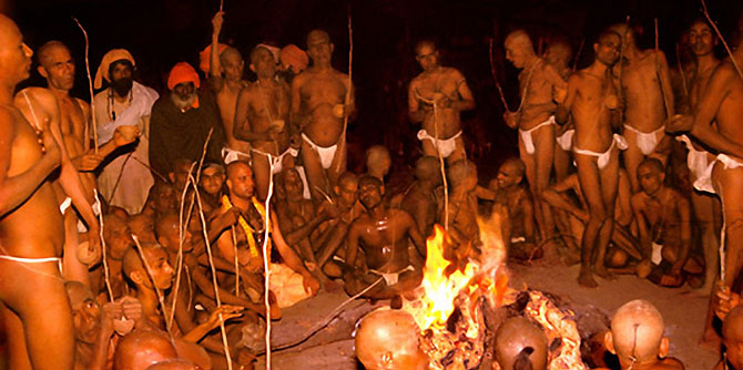 Celebrando el Kumbh Mela. (kumbh2010haridwar.gov.in)