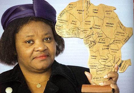 Christine Bernadette Nnomo, una de las protagonistas de la publicación | E.F.