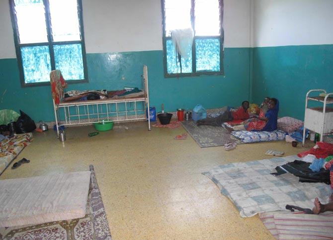 Habitación del hospital de Banaadir.| H. Nour