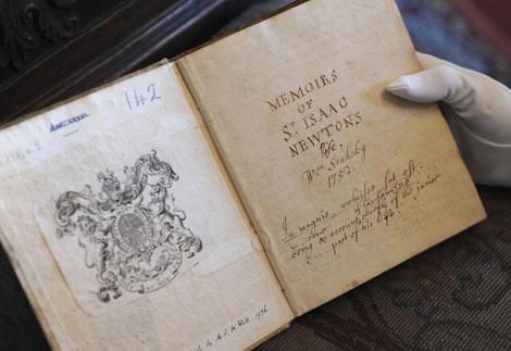 Manuscrito original de William Stukeley. | AP