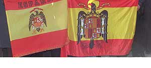 Banderas preconstitucionales.
