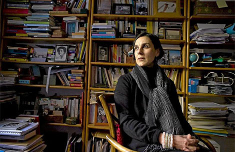 Valeria Bergalli, fundadora y directora de la editorial Minúscula.  Santi Cogolludo