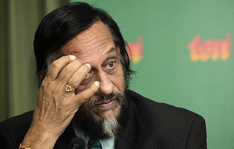 El secretario general del IPCC, Rajendra Pachauri, admite los errores del informe. | AP