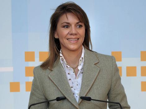 María Dolores de Cospedal, secretaria general del PP.   Efe