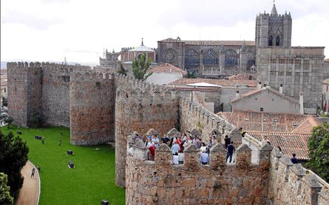 Imagen de la muralla de Ávila.| Archivo