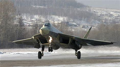 Primera imagen del T-50. | AP