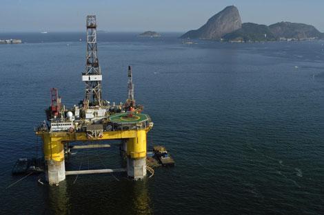 Yacimiento de petróleo de Repsol.   EL MUNDO