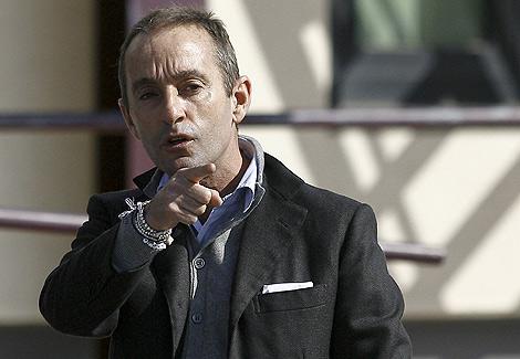 Massimo Ciancimino, hijo del difunto alcalde mafioso de Palermo Vito Ciancimino.   Afp