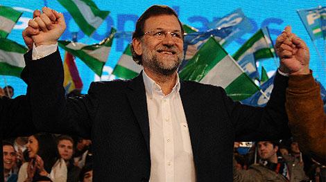 Mariano Rajoy, en Atarfe (Granada). | Jesús Garcia Hinchado