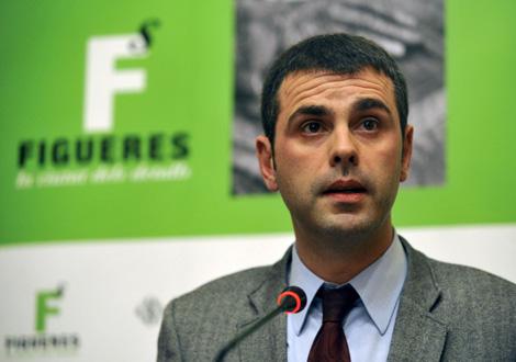 El alcalde, Santi Vila, durante la rueda de prensa. | Efe