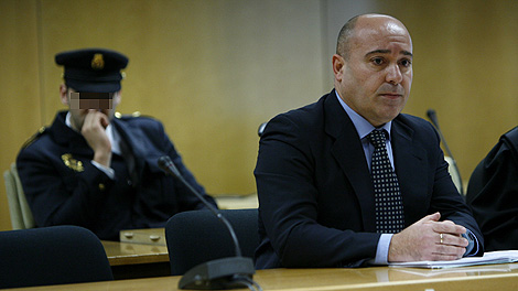 Roberto Flórez, en la primera sesión del juicio. | Alberto Di Lolli