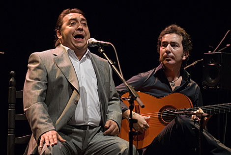Fernando Terremoto, en una actuación en el Lope de Vega de Sevilla. | Quino Castro