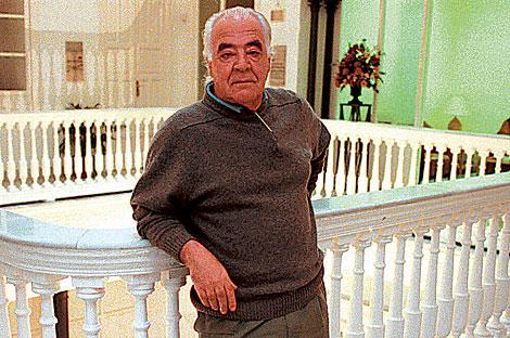 El ex diputado andalucista y escritor, Diego de los Santos. | Carlos Márquez