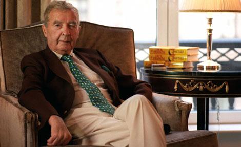 Francis, en un hotel de Nueva York en el año 2000. | Ap