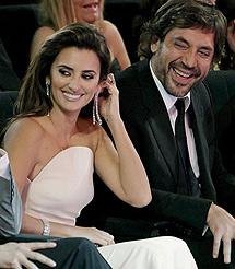 Penélope Cruz, junto a Javier Bardem. | Efe