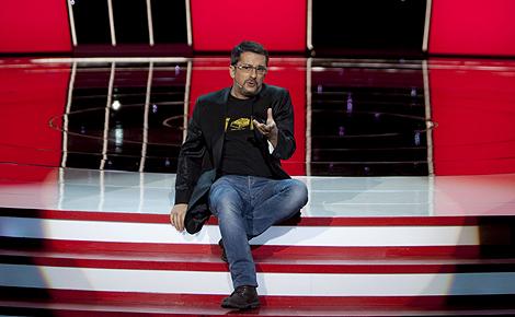 Andreu Buenafuente, presentador de la entrega de los Goya 2010. (Foto: Alberto di Lolli)