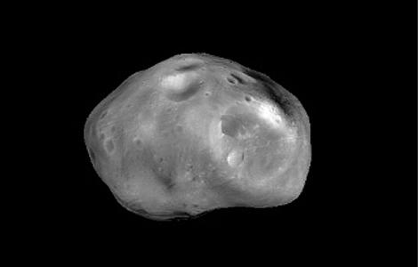 Recreación de 'Fobos'. | Foto: ESA