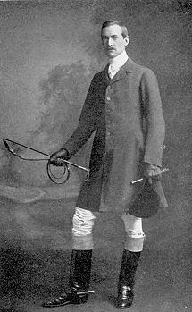 El escritor irlandés Lord Dunsany