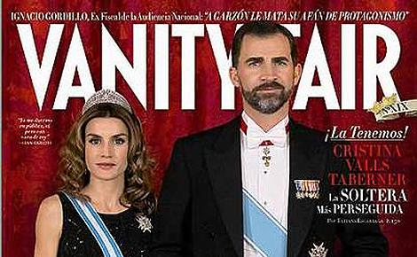 Portada de marzo de la revista 'Vanity fair'