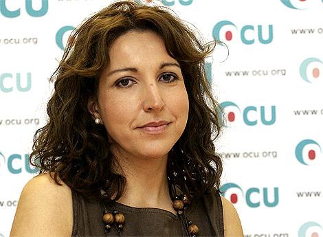 Ileana Izverniceanu, portavoz de la OCU. | Bernabé Cordón