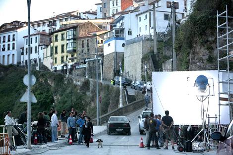 Momento del rodaje de la segunda temporada. | Vértice 360º