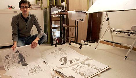 El ilustrador vallisoletano Raúl Allén. | Ical