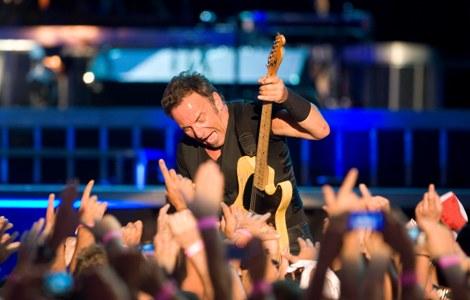 Bruce Springsteen en Bilbao.   J.G. Koch
