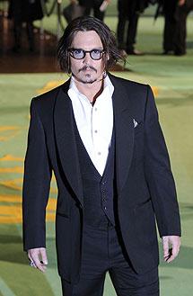 El actor estadounidense Johnny Depp en la premiere.| Reuters