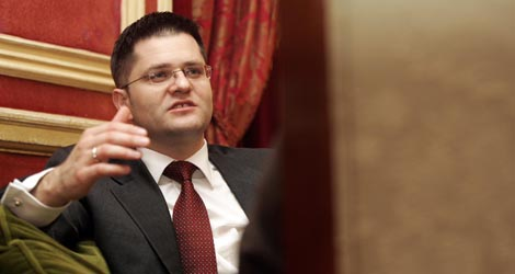 Vuk Jeremic, ministro de Asuntos Exteriores de Serbia. | Diego Sinova