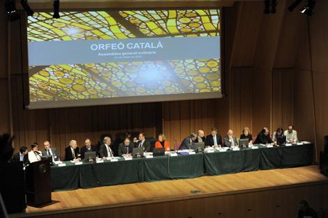 Asamble del Orfeó Català, esta noche. | Santi Cogolludo