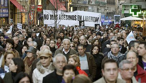 Asistentes a la manifestación. | Efe