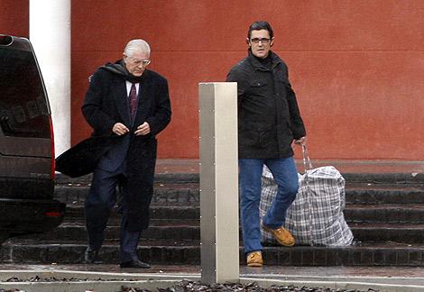 Antonio Puerta, tras abandonar la cárcel. | Efe